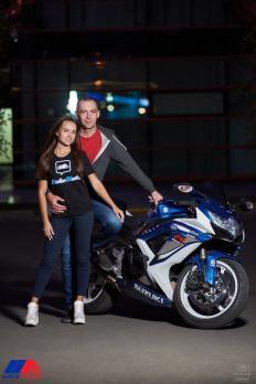 Фотосессия с мотоциклами